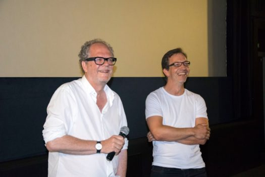 Director Andreas Morell and cinematographer Felix Cramer